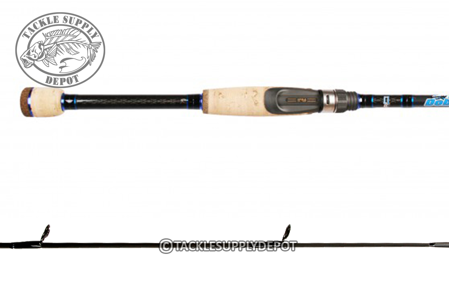 Dobyns champion xp 7ft heavy spinning rod split grip 705sf for Dobyns fishing rods