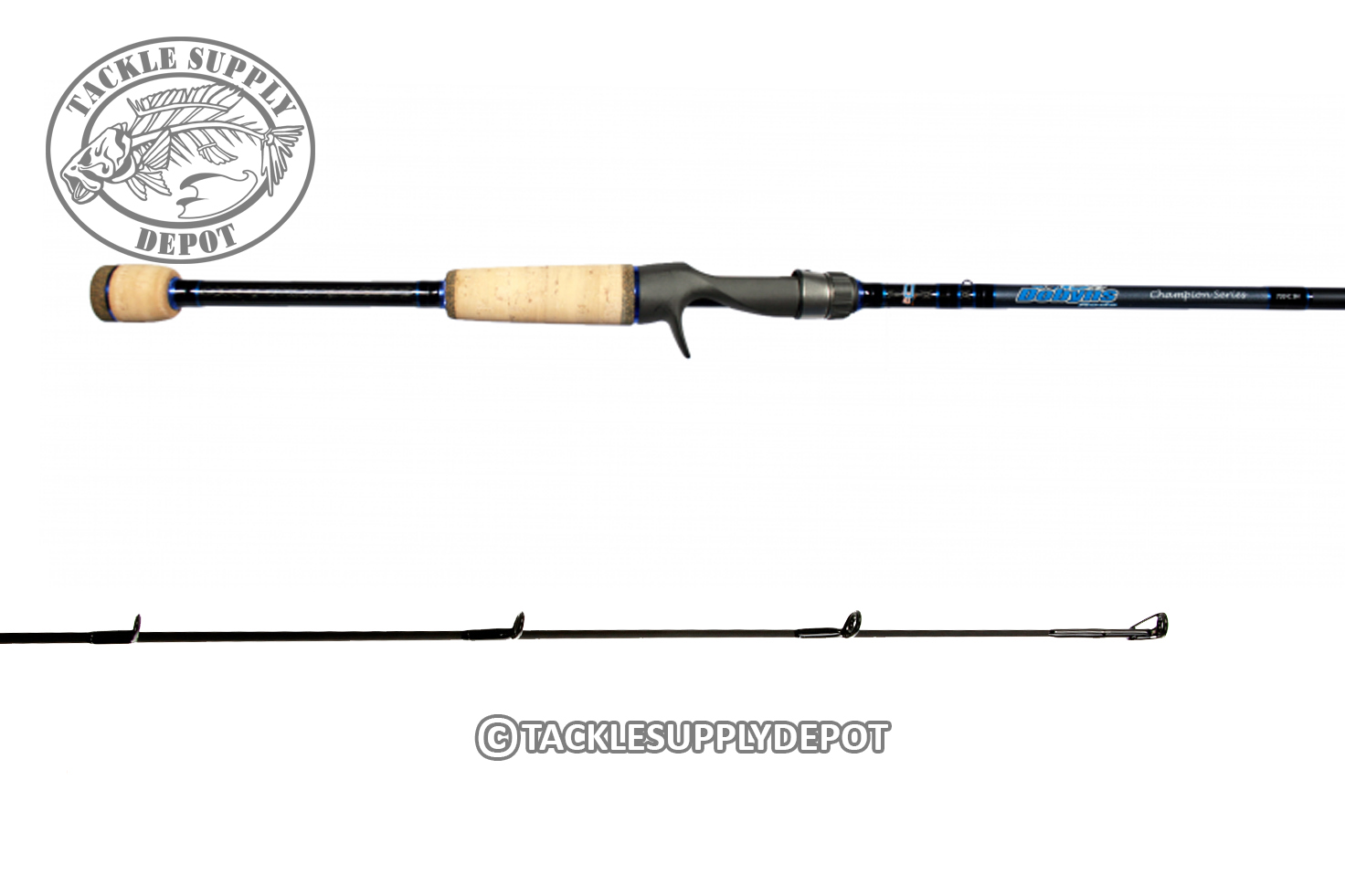 Dobyns champion xp 7ft 6in medium heavy casting rod full for Dobyns fishing rods