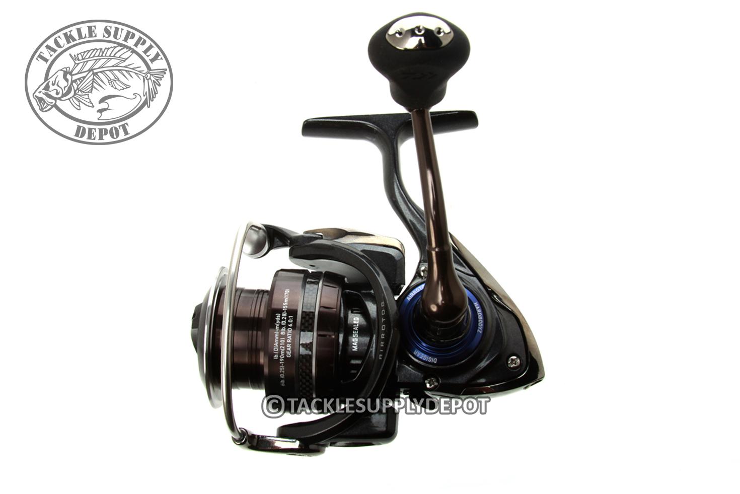 Daiwa procyon ex 6 0 1 spinning reel prex2500sh ebay for Purple fishing reel