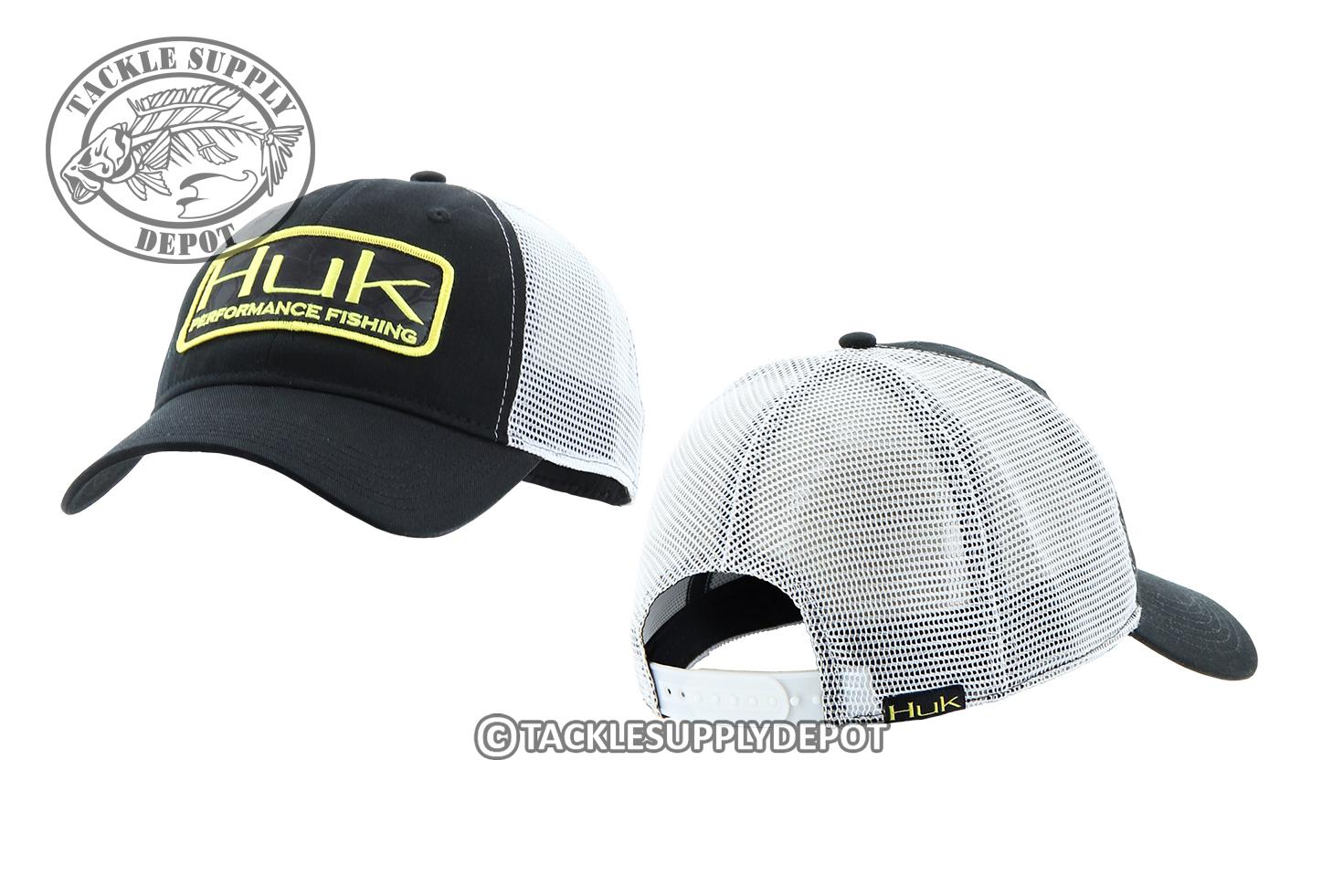 Huk fishing kryptek patch trucker hat cap h3000015 see for Huk fishing hats