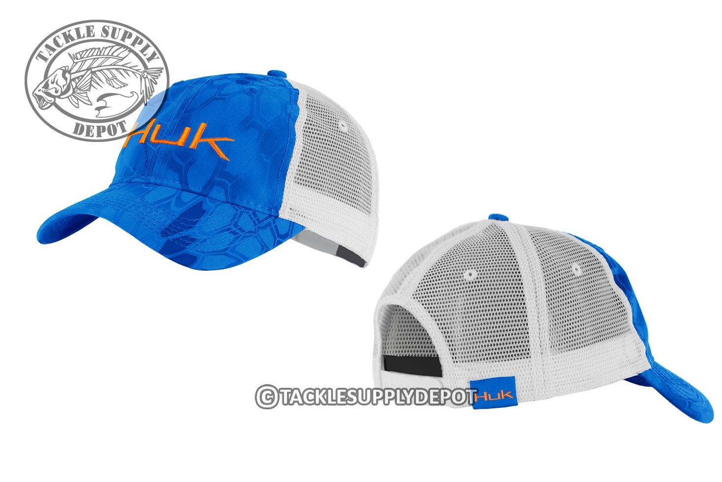 Huk fishing kryptek logo trucker hat cap h3000091 see for Huk fishing hats