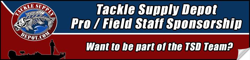 Tackle supply depot sponsorship for Fishing line home depot