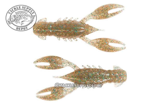 "Z-Man TRD CrawZ 2.5/"" California Craw 6 Pack Soft Plastic TRDCR-268 Crawdad"